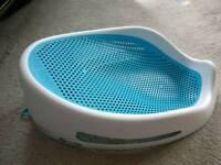 Angelcare blue baby bath