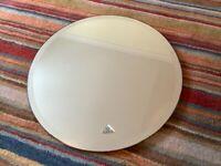 Circular Flabeg bathroom mirror