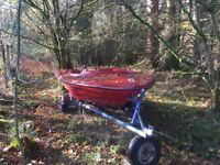 Fletcher style speedboat project w trailer