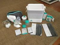 Mothercare steriliser and breast pump with extras. Perfect working order, great set of kit.