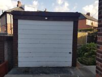 Sectional concrete garage 8ft x 16ft good condition. To be dismantled by purchaser.