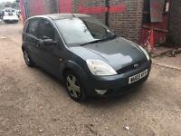 FORD FIESTA 1.4 PETROL 03 PLATE MOTD VERY GOOD CONDITION £325