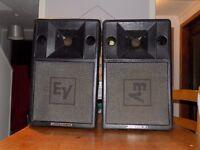 PV2000 Amplifier, RCF ART 300 Speakers, Peavey HiSYS speakers, Korg i4S