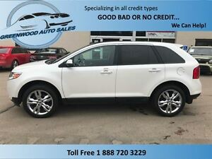 2013 Ford Edge AC, CRUISE, LEATHER, BACK UP CAM, HUGE SUNROOF