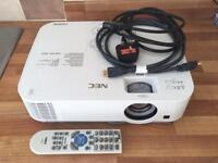 NEC Projector new condition