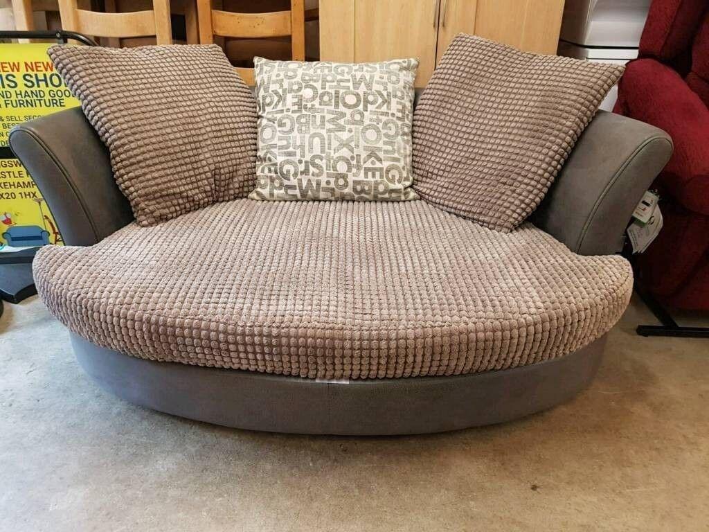 Dfs Swivel Chair Sofa