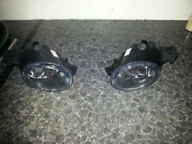renault clio 2001 to 2008 driving lights/spotlights,brand new and boxed,made by depo £20 the pair