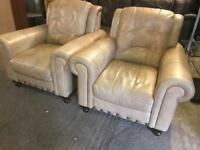 Stunning top grade leather 3 11 sofa set
