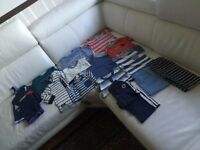 Bundle of new baby boy mix clothes 3-12 moths old
