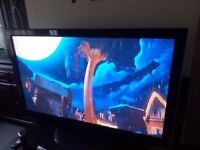 Panasonic 50 inch TV, Viera TX-P50X20B widescreen, HD ready Plasma TV, with free view,