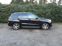 MERCEDES-BENZ M CLASS 3.0 ML350 CDI BlueTEC AMG Sport 7G-Tronic Plus 5dr Auto (black) 2013