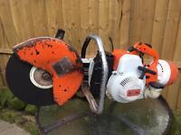 Stihl ts 350 disc cutter chop Saw