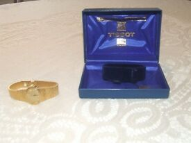 """Laidies Gold Plated 1980's Tissot """"winder"""" Watch"""