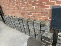 404 used Charcoal Block Paving Bricks