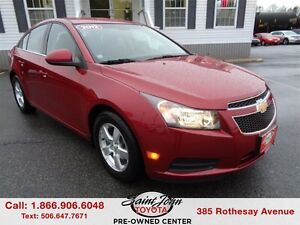 2012 Chevrolet Cruze LT Turbo $118.07 BI WEEKLY!!!