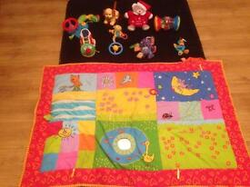 Baby mat and toy bundle.w