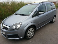 06 ZAFIRA 1.6 ,clean 7 seater with long MOT (real bargain)