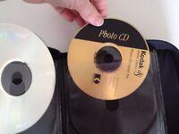 """""""FELLOWES"""" CD/DVD TRAVEL CASE holds 24"""