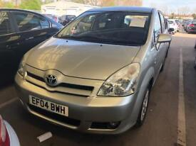 2004 TOYOTA COROLLA VERSO 1.8 V T3 WITH SERVICE HISTROY AND FULL MOT
