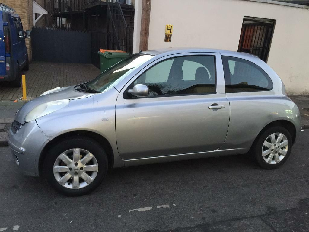 nissan micra 2006 hchback silver 1 3 petrol full automatic in manor park london gumtree. Black Bedroom Furniture Sets. Home Design Ideas