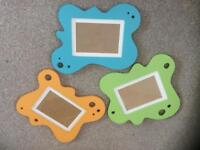 Nursery frames.baby record book and door sign