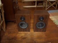 Heybrook HB1 speakers with Cambridge Audio A1 amplifier Wharfedale kef celestion jbl sansui