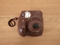 Fujifilm Instax Mini 7S brown Instant Film Camera