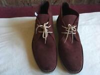 Topman mens boots wine size: 42 used £4