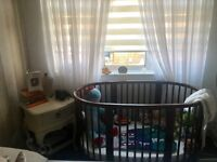Stokke sleepi mini and cot conversion with BOTH matresses