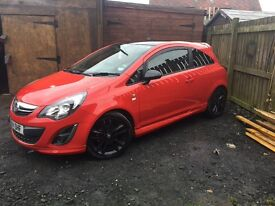 Vauxhall Corsa limited edition pritty much every extra poss