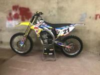 2012 Suzuki rmz250 rmz 250 motocross crf250,kx250,ktm,kxf,yzf250