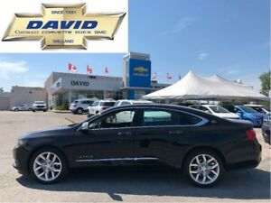 2017 Chevrolet Impala LTZ 2LZ PREMIER/ LEATHER/ SUNROOF/ REAR CA