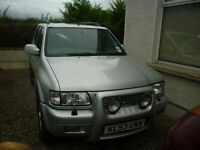 For Sale Vauxhall Frontera Jeep