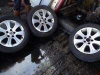 Vauxhall Vectra Astra Zafira alloy wheels