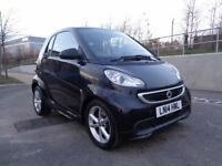 2014 SMART FOR TWO COUPE AUTOMATIC PETROL 1.0 , VERY LOW MILEAGE, 3 MONTHS WARRANTY, BARGAIN!