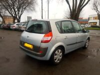 ONE YEAR MOT#IDEAL RUN AROUND#EASY TO DRIVE#2004 RENAULT SCENIC 1.6 PETROL MANUAL#BARGAIN £460 TODAY
