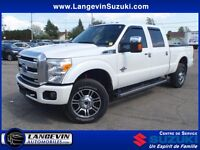 2015 Ford F-350 PLATINUM/DIESEL/CUIR/GPS/TOIT OUVRANT