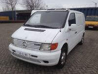 VERY NEAT LEFT HAND DRIVE MERCEDES BENZ VITO COOLING VAN, WORKS AND DRIVES PERFECTLY,PAPERS SORTED.