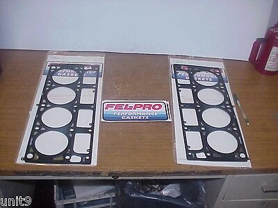 2 NEW Fel-Pro High Performance Multi-Layer Steel Head Gaskets for LS7 SB Chevy Fel Pro High Performance Gaskets