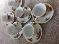 Vintage China tea cup and saucers