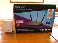 Nighthawk WiFi Router Plus Extender