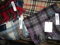 100% CASHMERE SCARVES by Lochmere Of Scotland