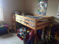 Pine Midi Sleeper/ Single Kids Bunk Bed for Sale Glasgow Offers Welcome