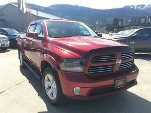 2015 Ram 1500 Sport Crew, Leather, Sunroof