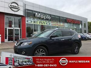 2016 Nissan Rogue SL AWD-1.9% Avail, LEATHER,NAVI,Roof!