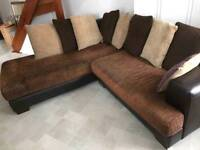 Harveys corner settee