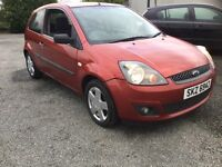 2007 Ford Fiesta 1.4 diesel mot full year £30 tax