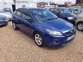 Ford Focus 1.6 TDCi DPF Zetec 5dr, MOT TILL FEB 18. 2 FORMER KEEPERS. HPI CLEAR. BLUETOOTH