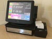 ★ Epos Pos Touchscreen Till for Takeaway, Bistro, Pub / Bar, Restaurants, Cafe, Pizza, Coffee Shop