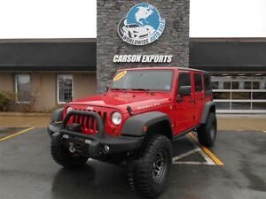 2008 Jeep Wrangler Unlimited Rubicon! LOOK! FINANCING AVAILABLE!
